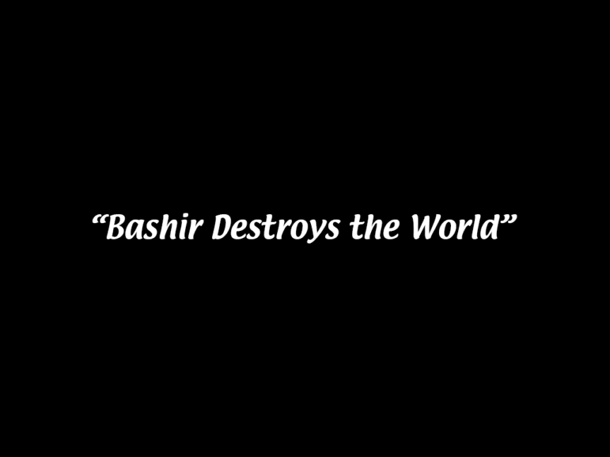 "4.10: ""Our Man Bashir"""
